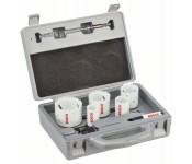 Набор из 9 коронок для электрика 22, 29, 35, 44, 51, 64 mm Bosch