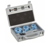 Набор коронок Sheet Metal из 9 шт. 20, 25, 32, 38, 51, 64 mm Bosch