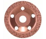 Твердосплавный чашечный шлифкруг 115 x 22,23 мм, крупнозерн., плоск. Bosch