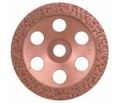Твердосплавный чашечный шлифкруг 180 x 22,23 мм, крупнозерн., плоск. Bosch