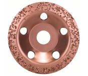 Твердосплавный чашечный шлифкруг 115 x 22,23 мм, крупнозерн., скошен. Bosch