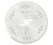 Пильный диск Top Precision Best for Laminated Panel Abrasive 250 x 30 x 3,2 mm, 80 Bosch