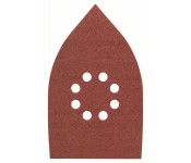 Набор шлифлистов, 5 шт. 100х170 mm для Мультишлифмашины Bosch