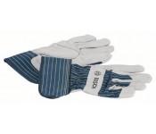 Защитные перчатки из воловьего спилка GL SL 10  Bosch