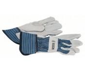 Защитные перчатки из воловьего спилка GL SL 11  Bosch