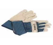 Защитные перчатки из воловьей кожи GL FL 10  Bosch