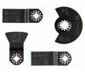 Набор для напольно-монтажных работ из 4 шт. ACZ 85 EB (1x), AIZ 32 BB (1x), AIZ 32 EC (1x), ATZ 52 SC (1x) Bosch