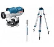 GOL 20 D + BT 160 + GR 500 Kit Оптический нивелир в комплекте со штативом и рейкой