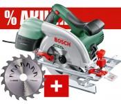 PKS 55 A + диск Precision promo Bosch для домашнего мастера